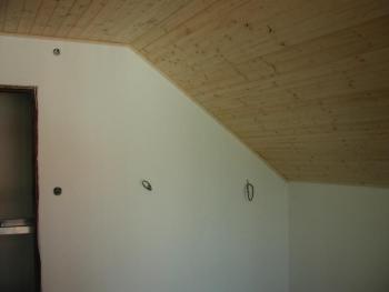 Obložení stěn palubkami